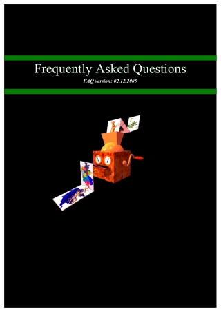 Frequently Asked Questions Frequently Asked Questions Frequently Asked Questions