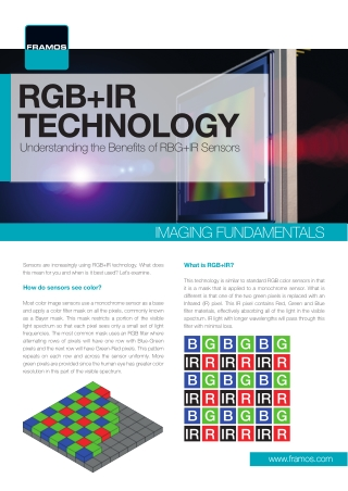 RGB+IR TECHNOLOGY