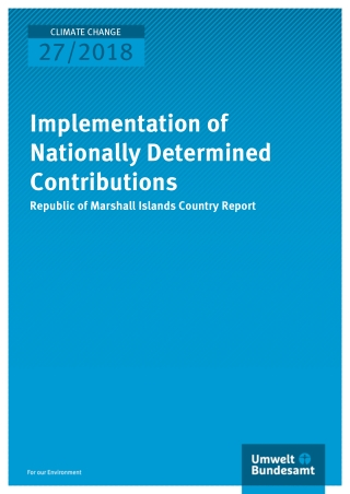 Implementation of Nationally Determined Contributions