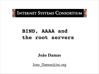 BIND, AAAA and the root servers