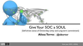 Give Your SOC a SOUL