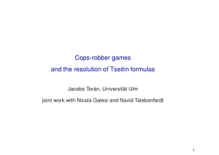 Cops-robber games and the resolution of Tseitin formulas