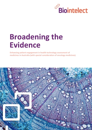 Broadening the Evidence