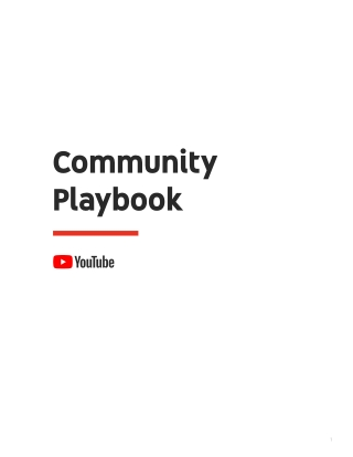 Community Playbook