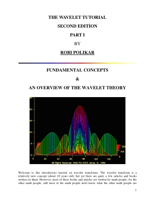 THE WAVELET TUTORIAL SECOND EDITION PART I