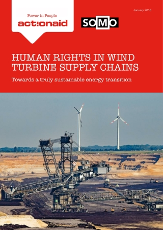 HUMAN RIGHTS IN WIND TURBINE SUPPLY CHAINS