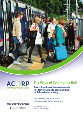 The Value of Community Rail