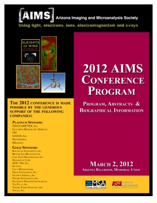 AIMS 2012 Program MU Arizona Ballroom MU221