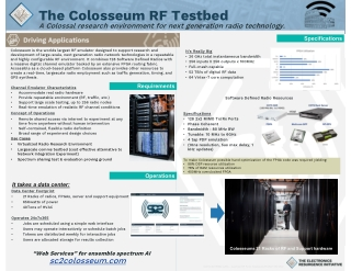 The Colosseum RF Testbed