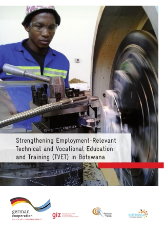 Strengthening Employment-Relevant Technical and Vocational Education and Training (TVET) in Botswana