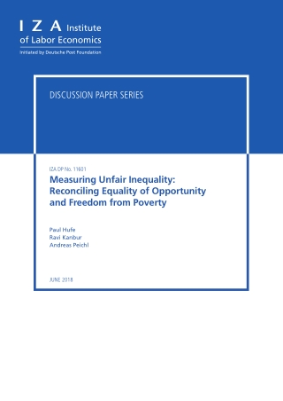 Measuring Unfair Inequality: Reconciling Equality of Opportunity and Freedom from Poverty