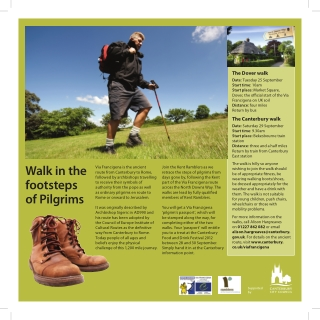 Walk in the footsteps of Pilgrims