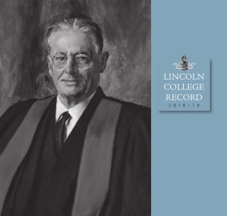 LINCOLN COLLEGE RECORD