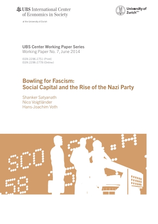 Bowling for Fascism: Social Capital and the Rise of the Nazi Party