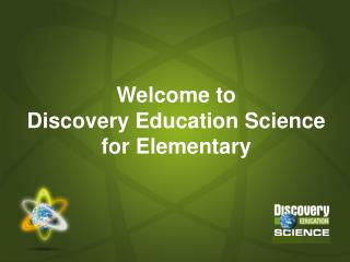Welcome to Disclosure Training Science for Basic