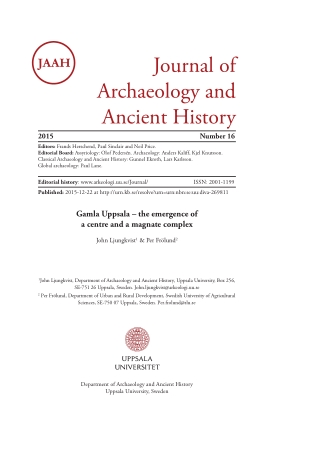 Journal of Archaeology and Ancient History