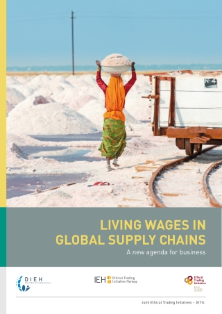 LIVING WAGES IN GLOBAL SUPPLY CHAINS