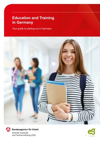 Education and Training Education and Training in Germany in Germany