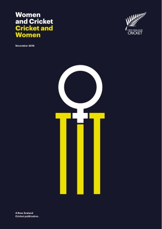 Women and Cricket Cricket and Women