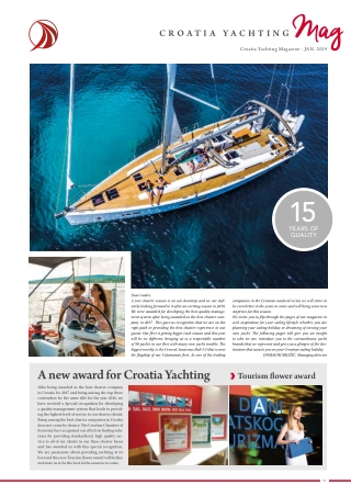 A new award for Croatia Yachting