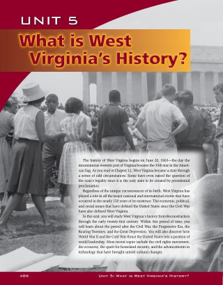 What is West Virginia's History?