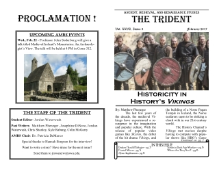 The Trident Proclamation !