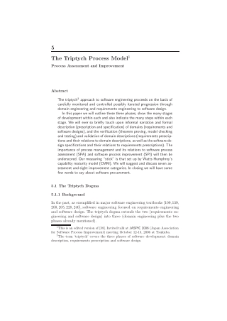 The Triptych Process Model