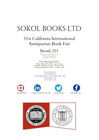 SOKOL BOOKS LTD