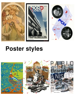 Poster styles