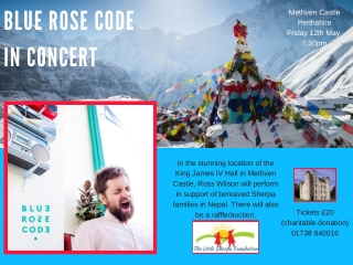 BLUE ROSE CODE IN CONCERT