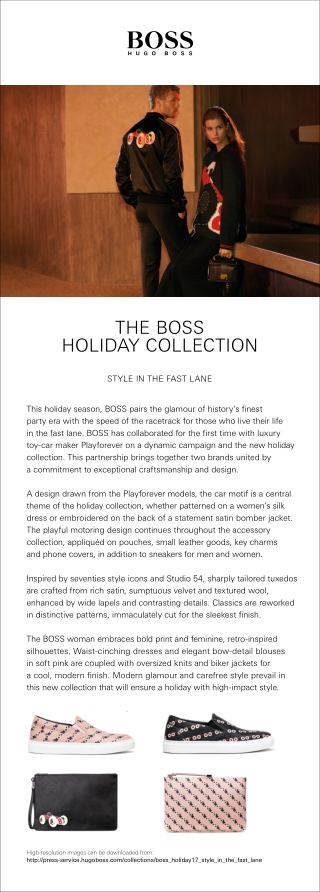 THE BOSS HOLIDAY COLLECTION
