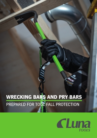 WRECKING BARS AND PRY BARS
