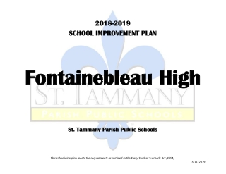 Fontainebleau Fontainebleau High High