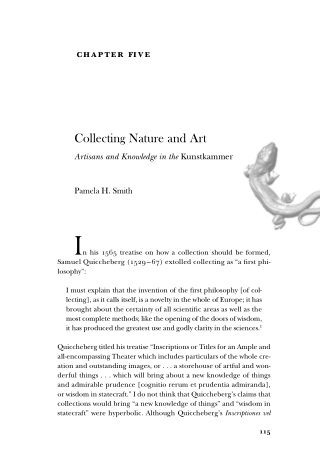 Collecting Nature and Art