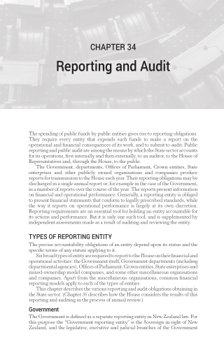 Reporting and Audit