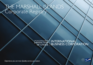 THE MARSHALL ISLANDS Corporate Registry