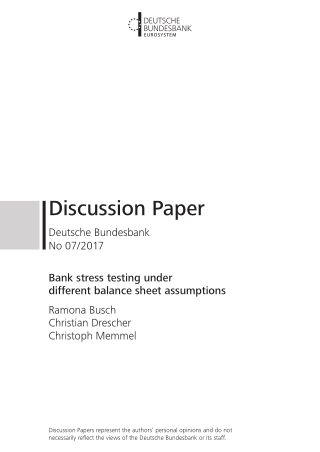 Discussion Paper
