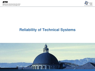 Reliability of Technical Systems