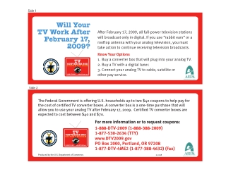 Will Your TV Work After February 17,