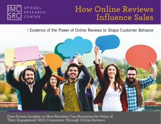 How Online Reviews Influence Sales