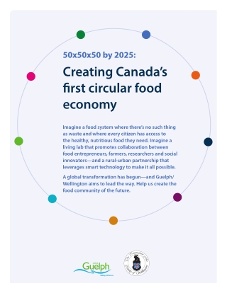 Creating Canada's first circular food economy