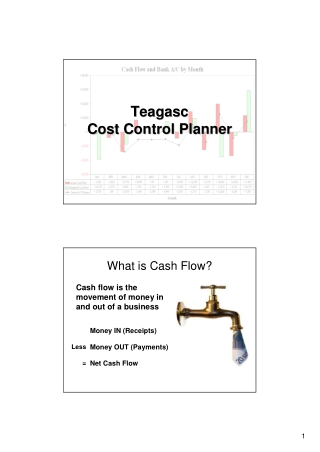 Teagasc Teagasc Cost Control Planner Cost Control Planner