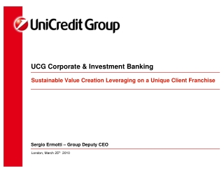 UCG Corporate & Investment Banking