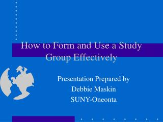Step by step instructions to Frame and Utilize a Study Assemble Viably