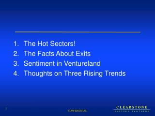 The Hot Areas! The Certainties About Ways out Notion in Ventureland Contemplations on Three Rising Patterns