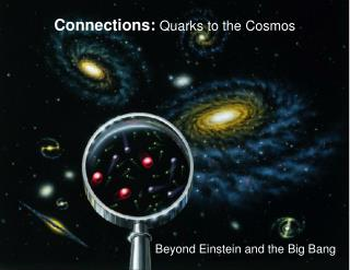 Associations: Quarks to the Universe