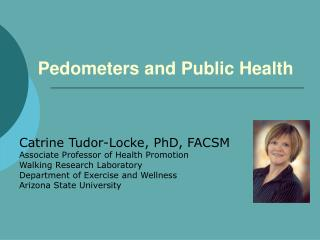 Pedometers and General Wellbeing