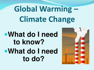 An unnatural weather change – Environmental Change