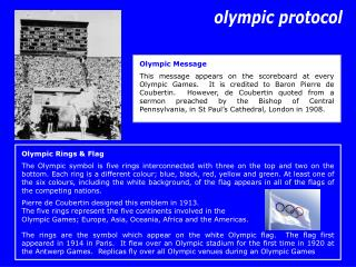 Olympic Rings and Banner