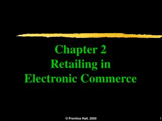 Part 2 Retailing in Electronic Business